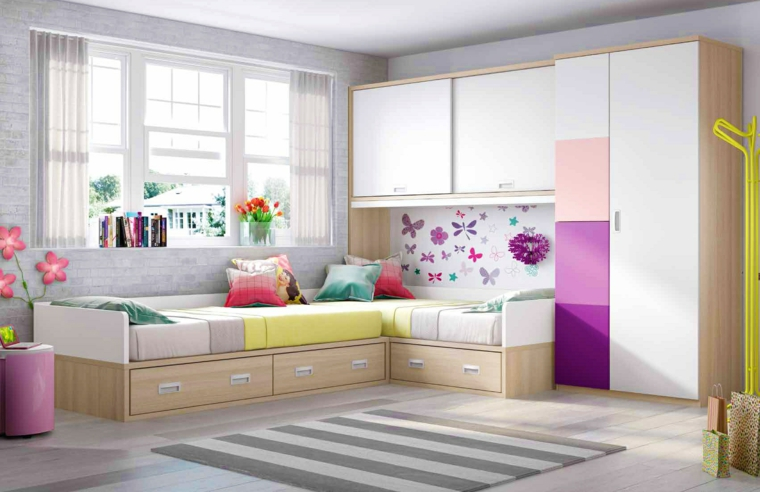 Stanze Per Ragazze Moderne : Camera per ragazzi e ragazze in età adolescenziale