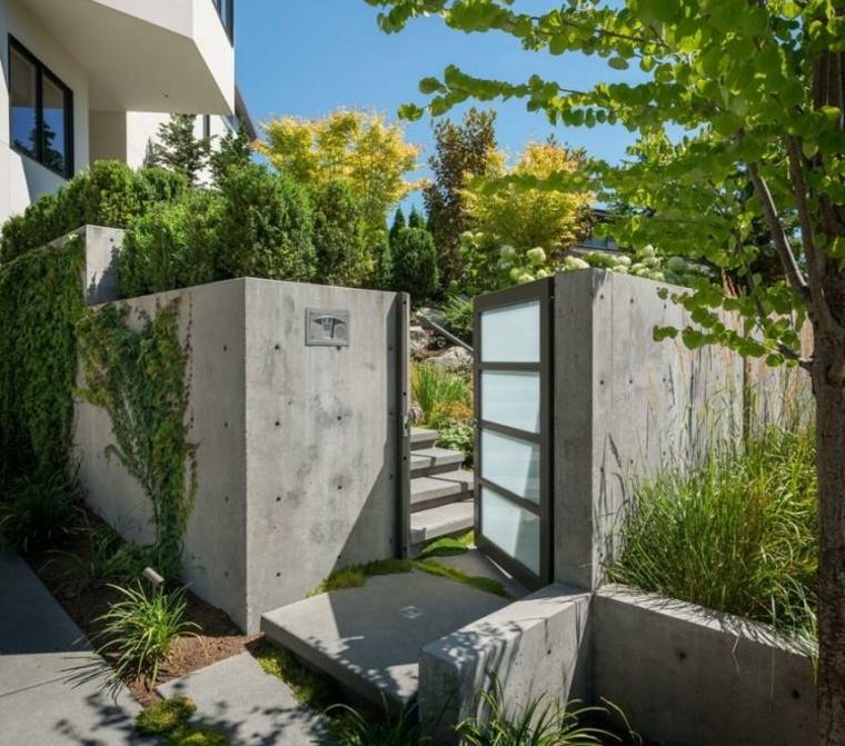 Cancelli tante idee per la vostra porta da giardino for Idee giardino semplice