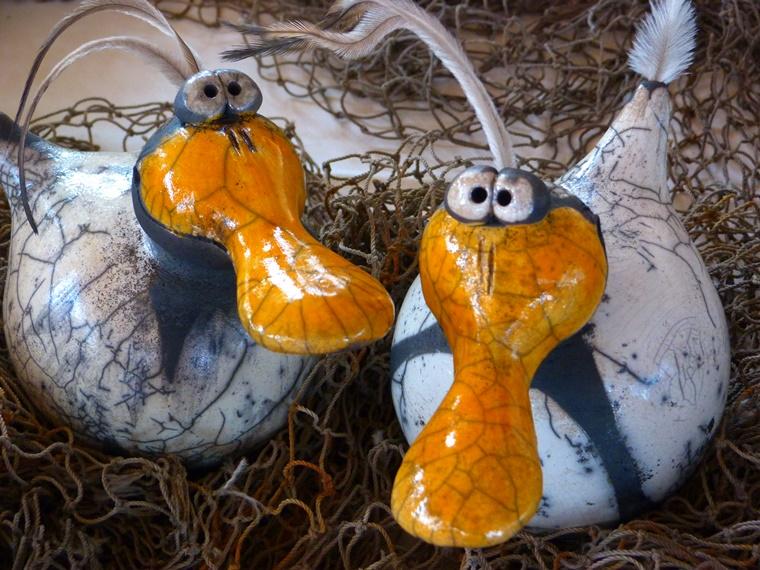 ceramica idee decorazione abbellire giradino