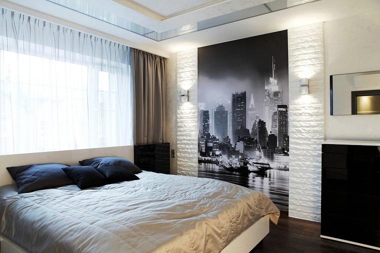 Colori pareti camera da letto idee eleganti e raffinate - Camera da letto pareti ...