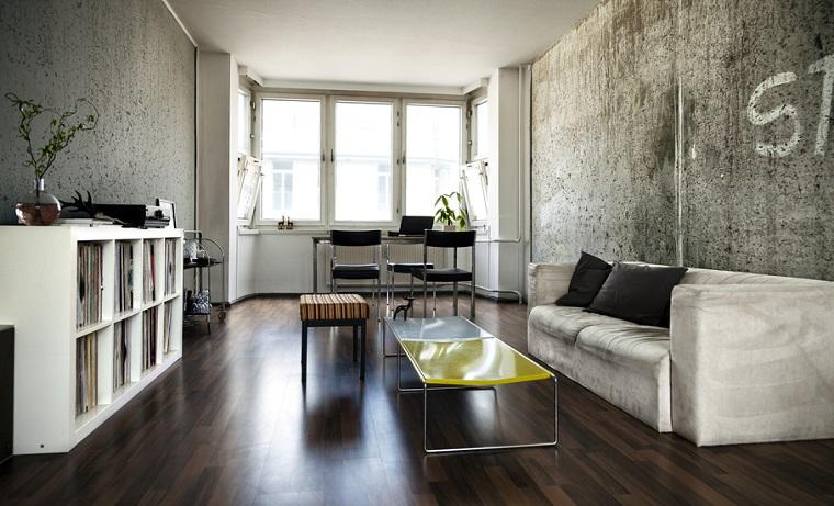Colori Pareti Soggiorno 2016 : Pareti soggiorno e pavimenti in legno idee per trasformare la