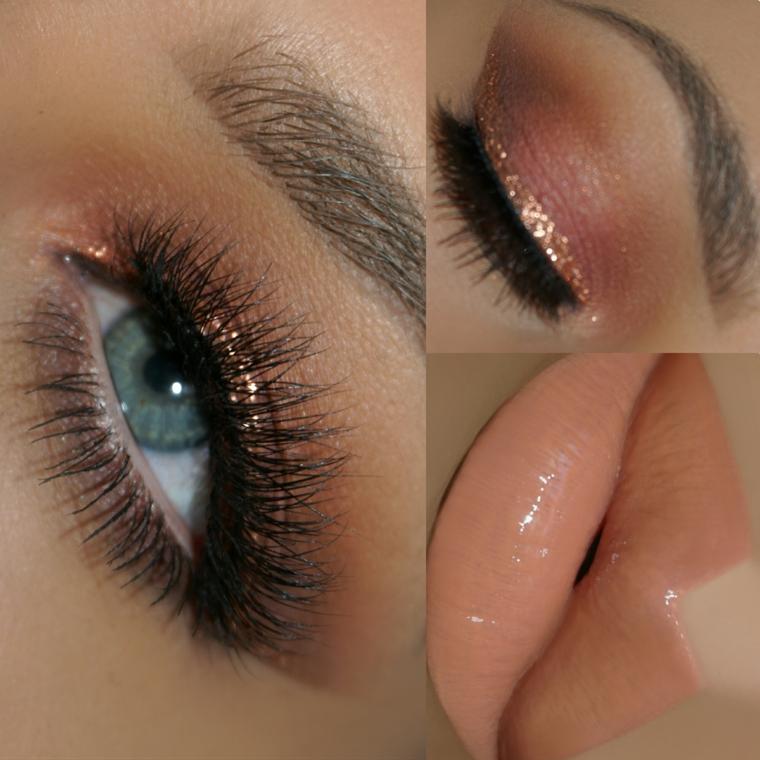 colori particolari stravaganti makeup originale