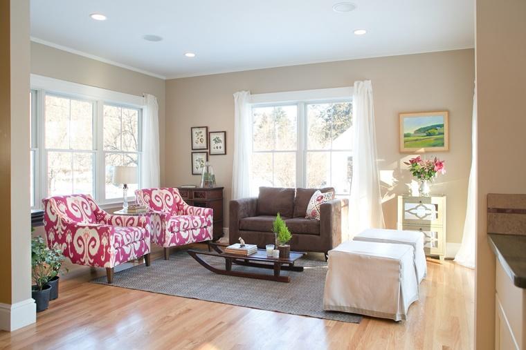 Pareti Soggiorno Beige : Colori per pareti idee per ogni ambiente della casa archzine