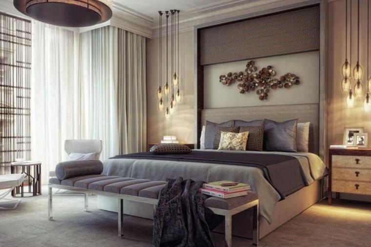 cosa mettere sopra il letto matrimoniale decorazione lampade como panchina divano