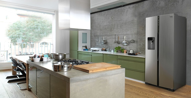 Cucine con frigo esterno e tanto altro per una cucina - Cucine con frigo esterno ...