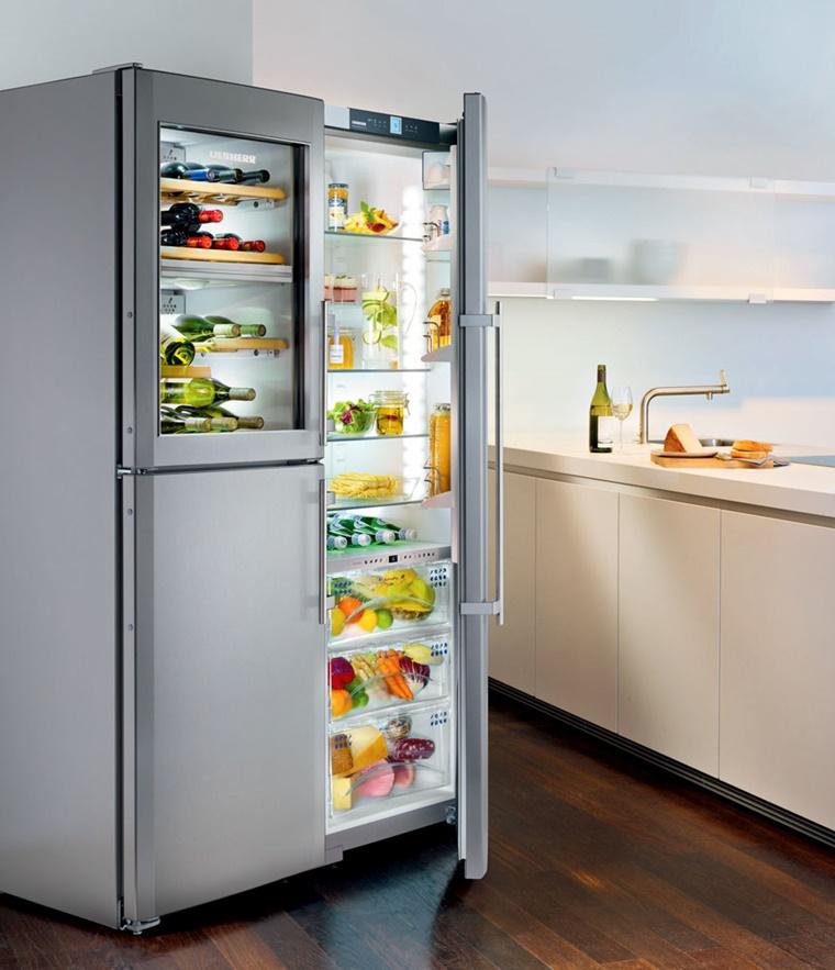 Cucine con frigo esterno e tanto altro per una cucina - Cucine con frigo a vista ...