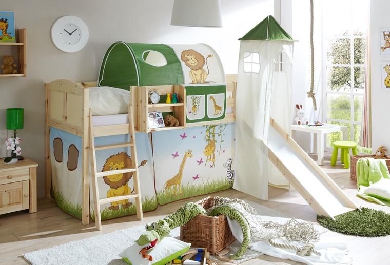 Arredamento camerette idee creative per il nido dei for Arredamento bambini