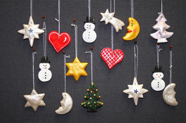Lavoretti Di Natale Addobbi.Lavoretti Di Natale Fai Da Te Carta Forbici E Un Po Di