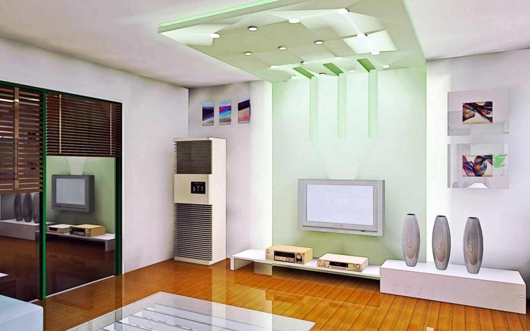 Arredamento soggiorno in stile moderno mobili e decorazioni di design for Soggiorno arredato