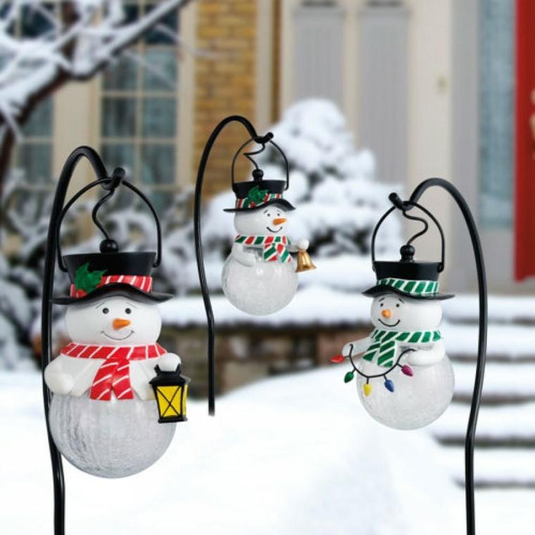 decorazioni natalizie lanterne giardino