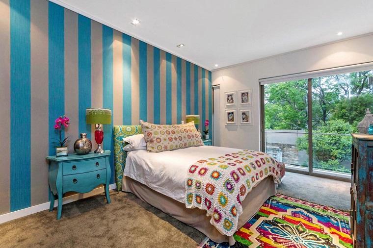 Pareti decorate un mondo di soluzioni per le camerette for Decorazioni per camerette