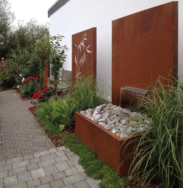 divisori da giardino corten disegni