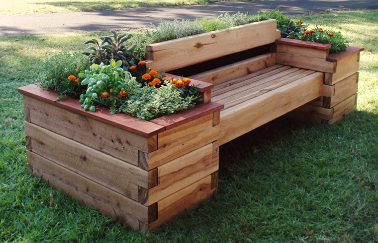 euro pallet bancali legno idea originale giardino