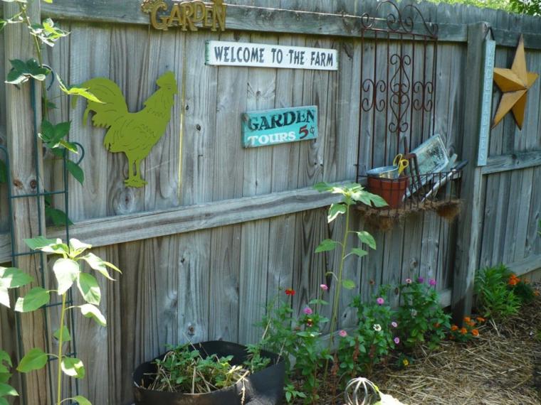 euro pallet particolari idee arredo giardino