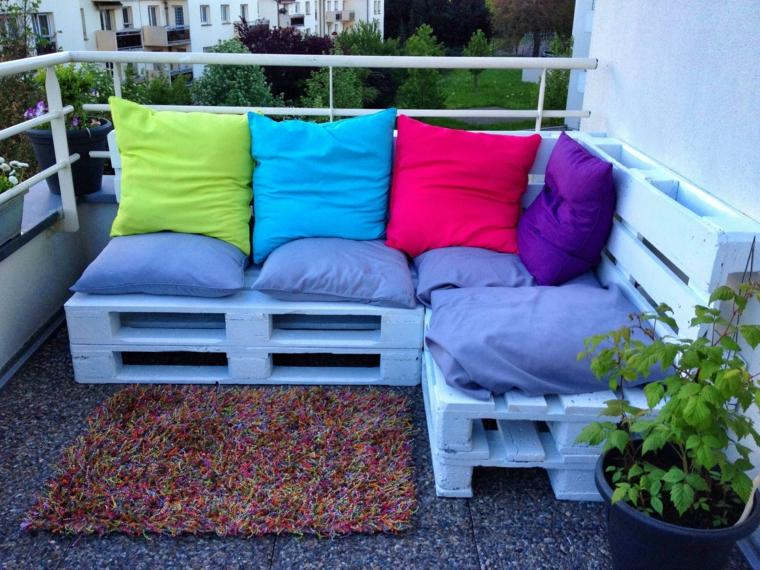 europallet arredamento giardino dettagli colorati