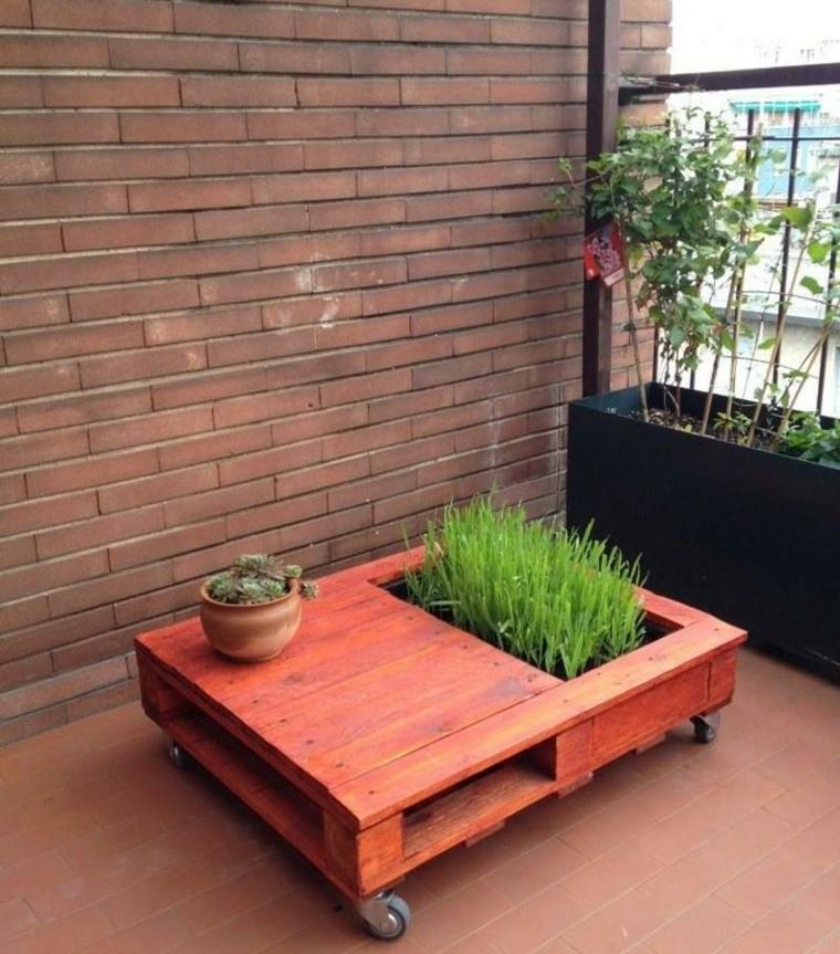 europallet dea originale giardino tavolino legno
