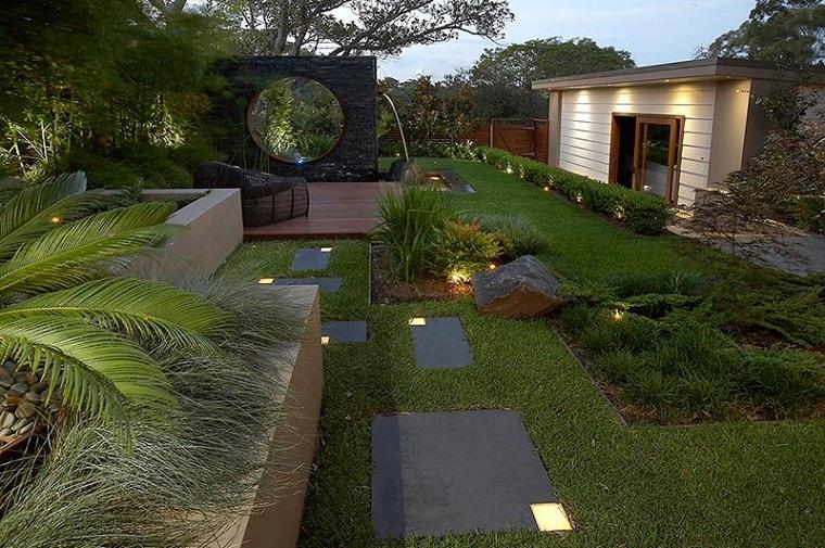 exterior design moderno completamente verde
