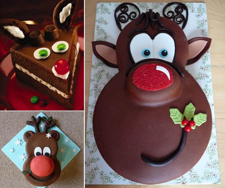 fai da te natale torta cioccolato