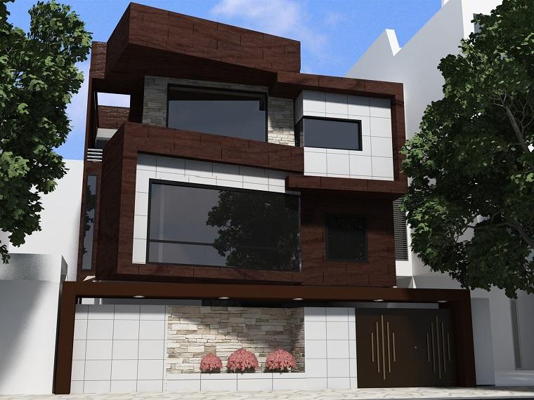 finestre architettura moderna facciata villa