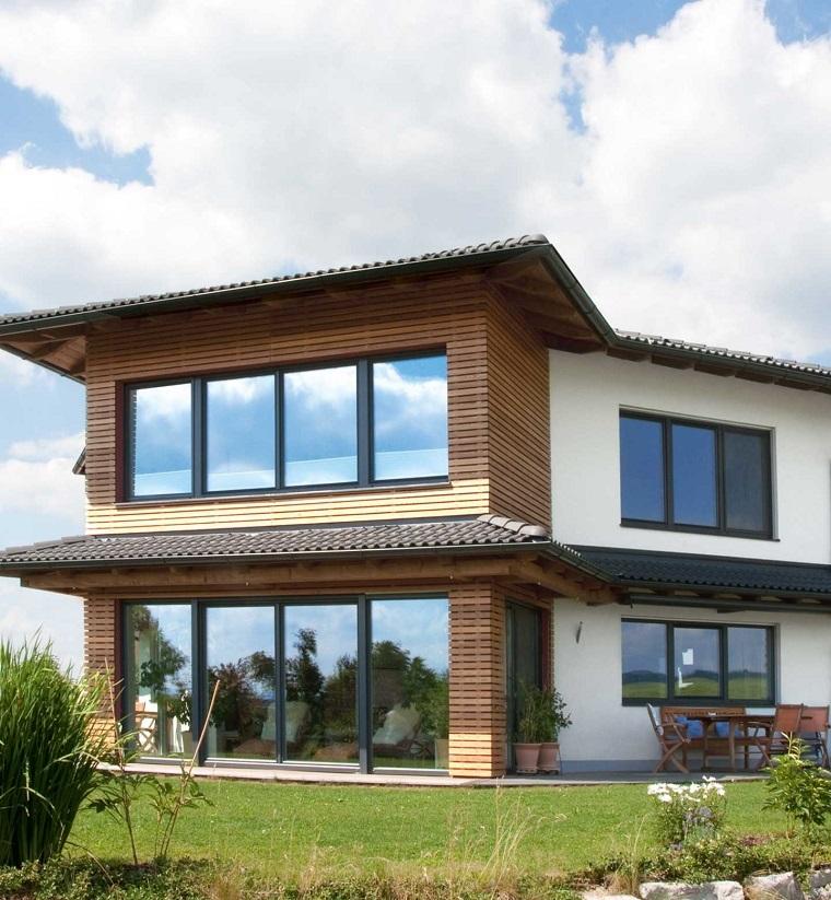 finestre architettura moderna villa campagna