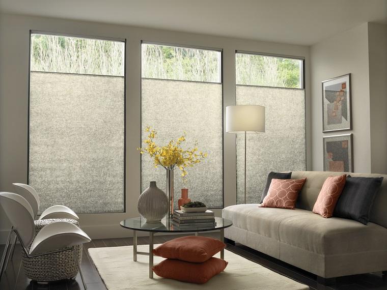 finestre moderne grandi verticali soggiorno