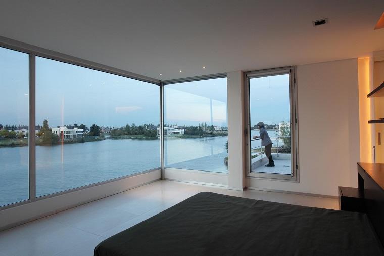 finestre moderne panoramiche abitazione avanguardia