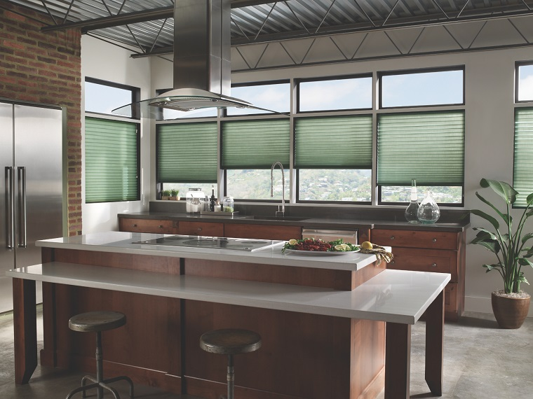 finestre moderne proposta cucina stile industriale