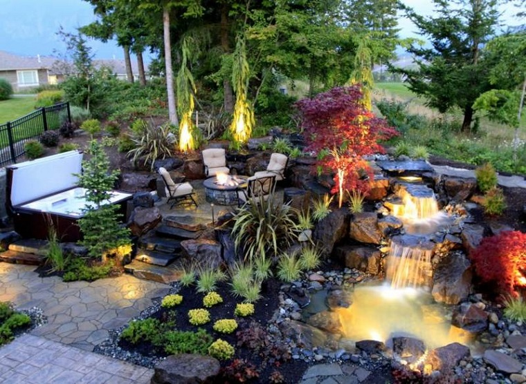 fontana da giardino proposta suggestiva