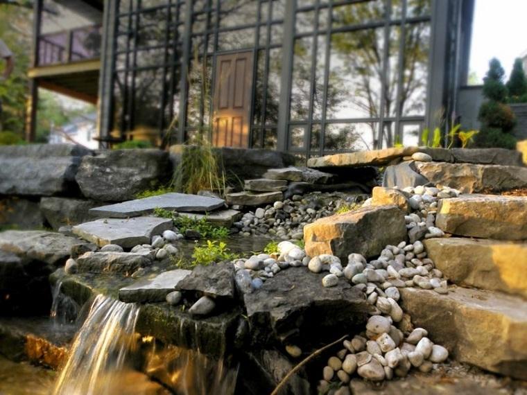 fontane da giardino soluzione cascata