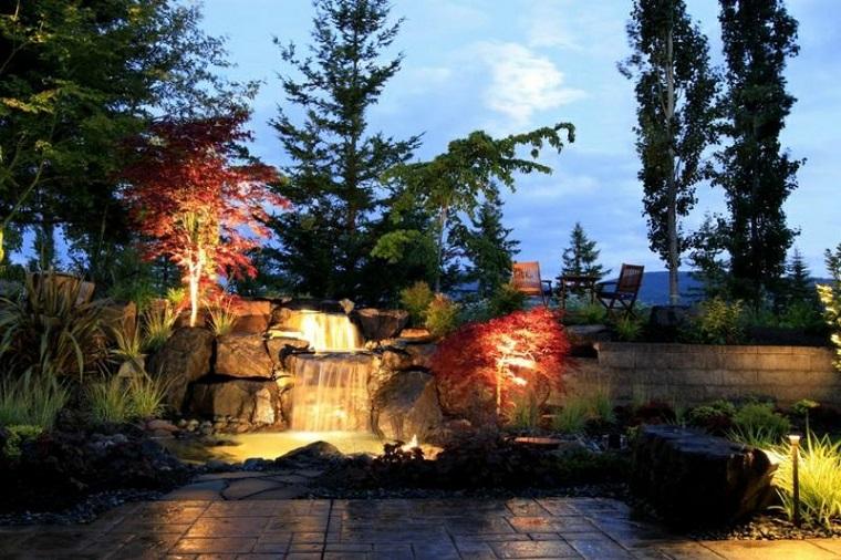 fontante da giardino atmosfera zen