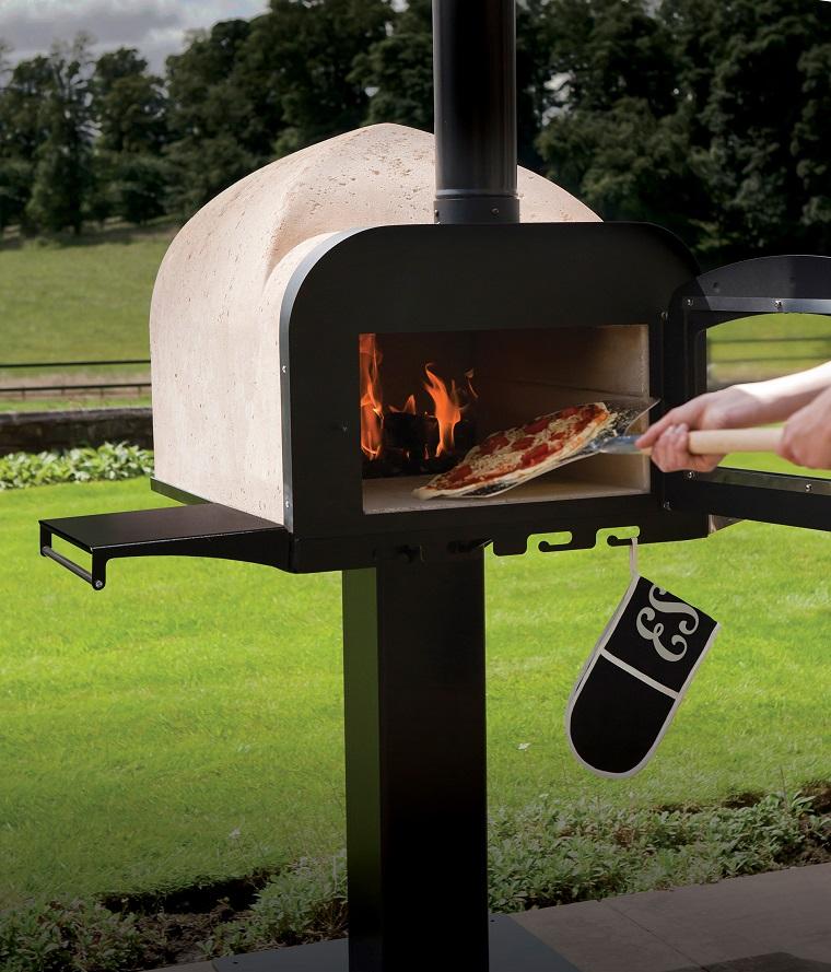 Forno da giardino a legna tante idee e soluzioni per cucinare all 39 aria aperta - Barbecue e forno a legna da giardino ...