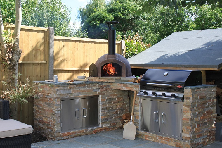 Barbecue Da Giardino A Legna. Affordable Barbecue Forno A Legna Da ...