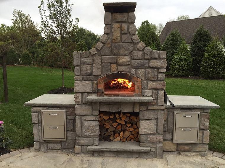 Forno da giardino a legna tante idee e soluzioni per cucinare all 39 aria aperta - Cucinare con il forno a legna ...