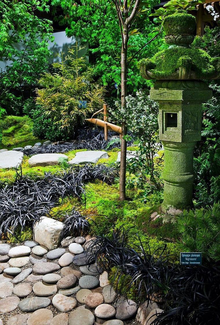 giardini giapponesi particolari piante rocce