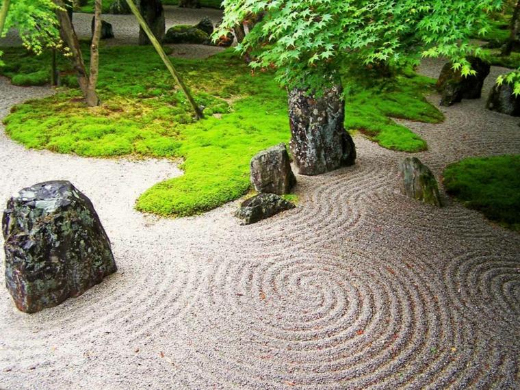 giardini giapponesi rocce piante particolari