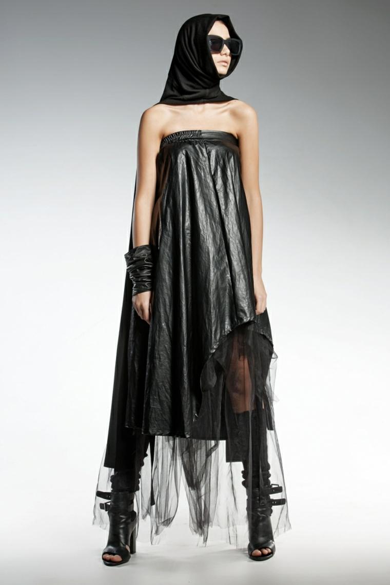 giochi di moda abbigliamento donne vestito nero