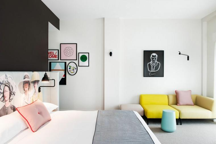 hotel design contemporaneo moderno camera matrimoniale
