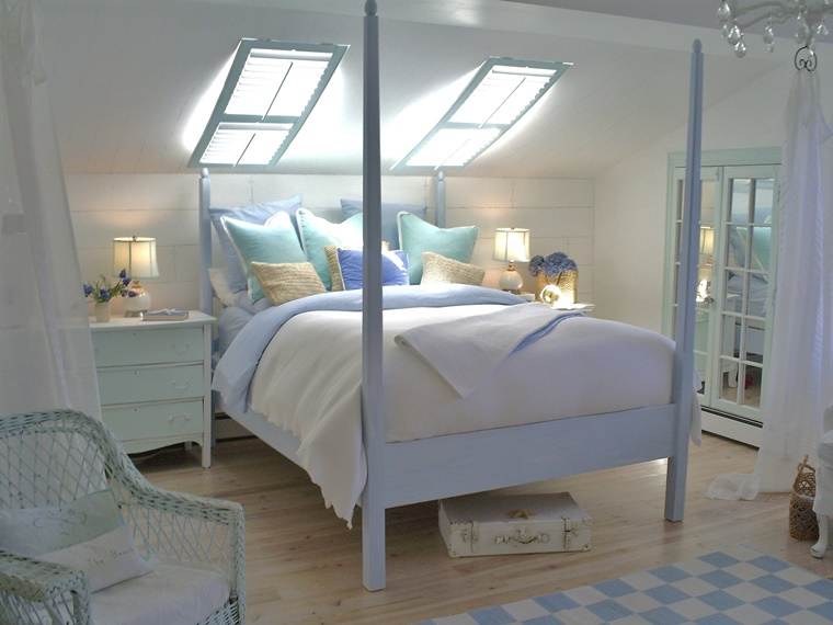 Camerette mansardate idee per un arredamento unico e for Arredamento originale casa