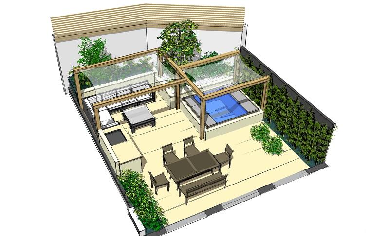 Progettazione giardino 3d creare l 39 area verde online for Progettazione on line