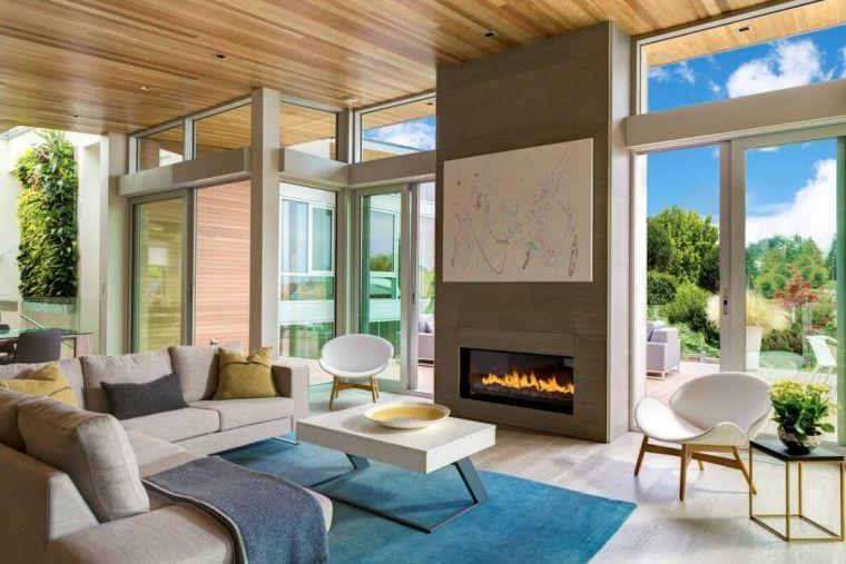 Arredamento soggiorno in stile moderno mobili e for Subito arredamento modena