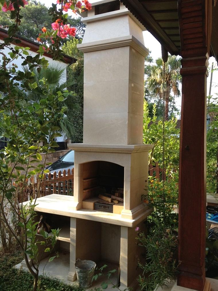 idea barbecue pezzi monoblocchi costruzione facile