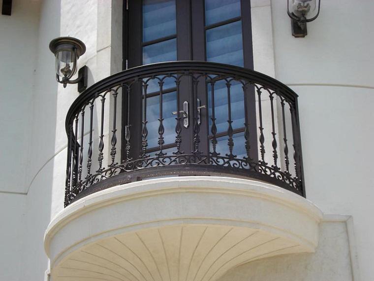 idea design elegante ringhiera ferro