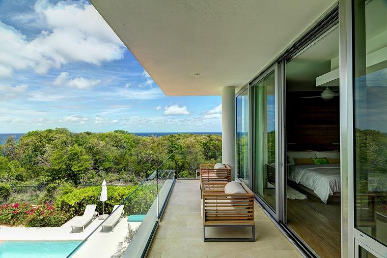 idea design moderno vetro casa lusso