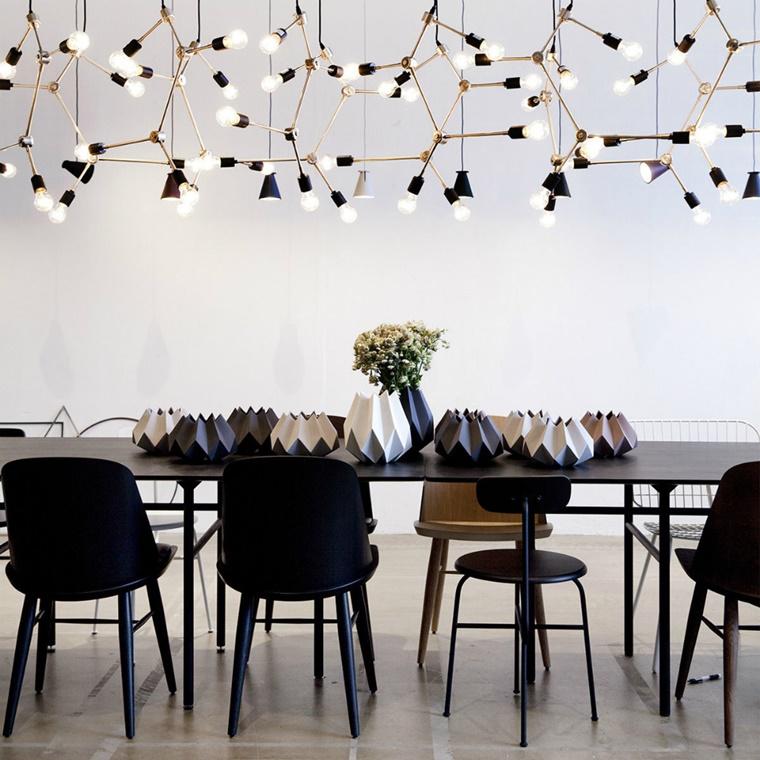 idea lampadario originale stravagante soggiorno