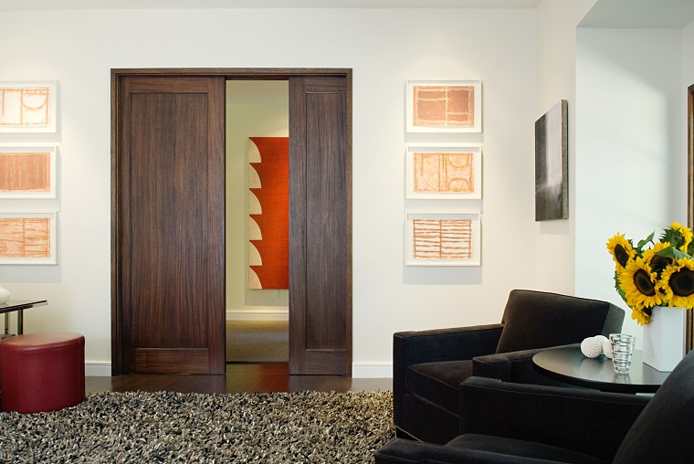 idea porta interna legno ideale soggiorno