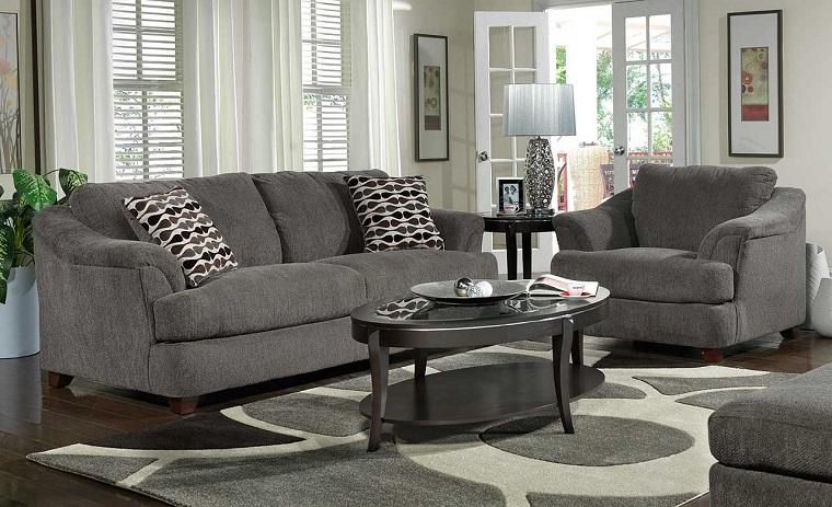 Divani Bianchi E Neri : Idee arredo casa in bianco nero e grigio per uno stile sobrio ed