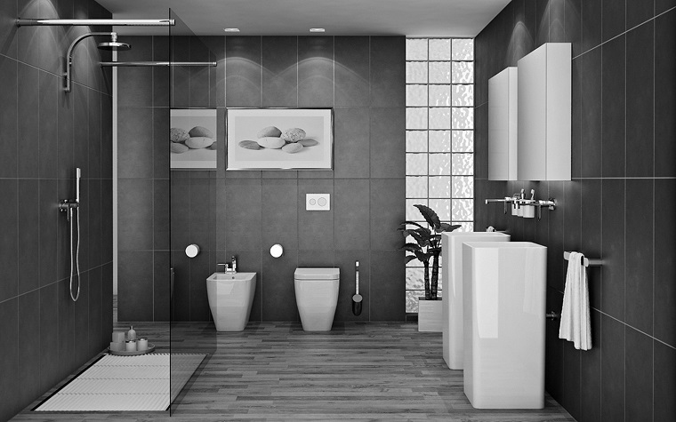 Arredamento Bianco Grigio E Nero.Idee Arredo Casa In Bianco Nero E Grigio Per Uno Stile Sobrio Ed