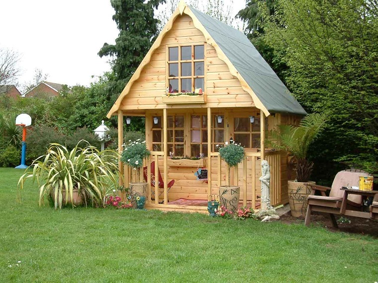 idee pallet staordinaria casa bimbi giardino