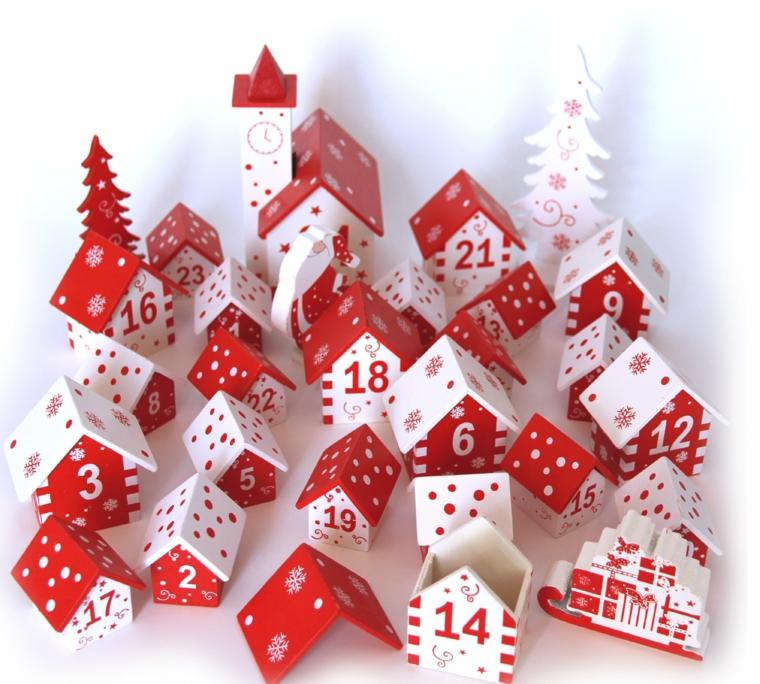 idee per natale calendario natalizio originale