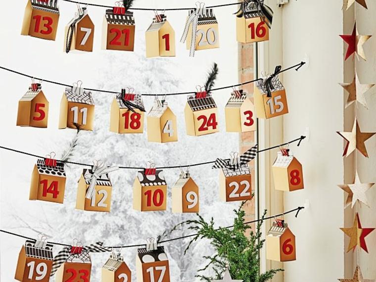 idee per natale originali calendario natalizio
